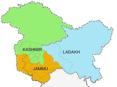 जम्मू आणि काश्मीर सरकारने जम्मू-काश्मीर साठी तीन स्वतंत्र विभाग मंजूर केले.