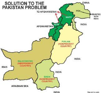 पाकचे विभाजन- दुसरी शक्यता, स्वतंत्र पश्तुनिस्तान