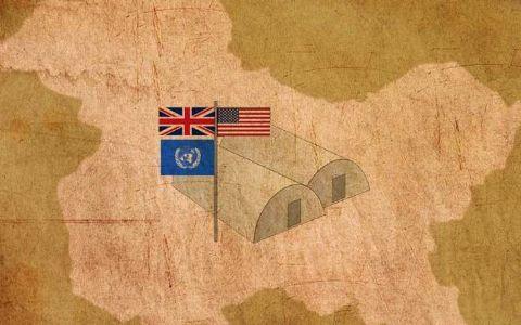 अँग्लो- अमेरिकन ऑपरेशन - भारताविरुद्ध चाल