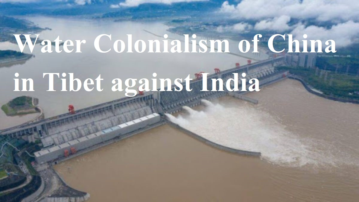 Water Colonialism of Chin
